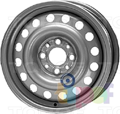 Колесные диски KFZ 8730. Изображение модели #1