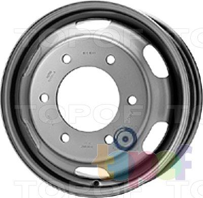 Колесные диски KFZ 8733. Изображение модели #1