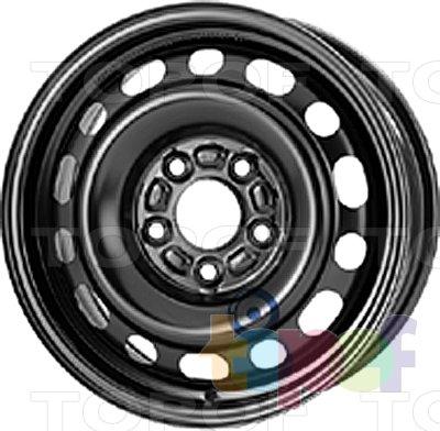 Колесные диски KFZ 8735. Изображение модели #1
