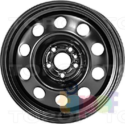 Колесные диски KFZ 8745. Изображение модели #1