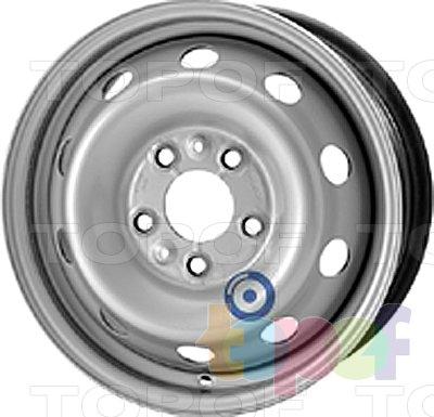 Колесные диски KFZ 8775. Изображение модели #1