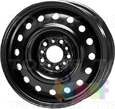 Колесные диски KFZ 8815. Изображение модели #1