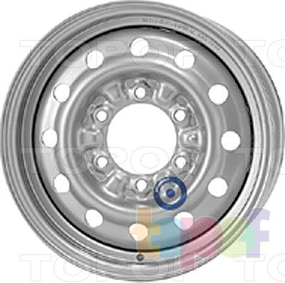 Колесные диски KFZ 8825. Изображение модели #1