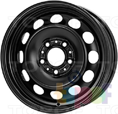 Колесные диски KFZ 8835. Изображение модели #1
