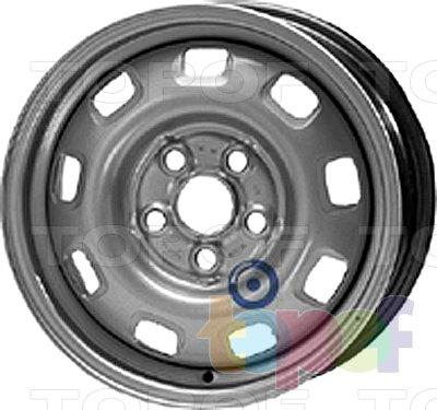 Колесные диски KFZ 8840. Изображение модели #1