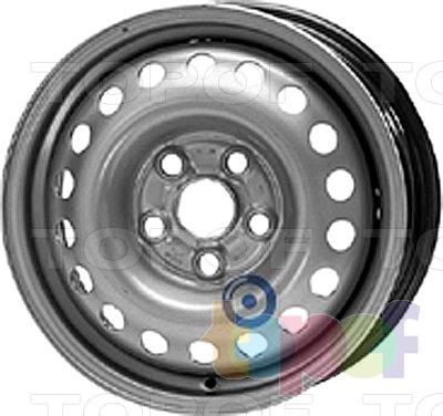 Колесные диски KFZ 8845. Изображение модели #1