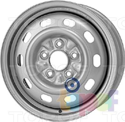 Колесные диски KFZ 8865. Изображение модели #1
