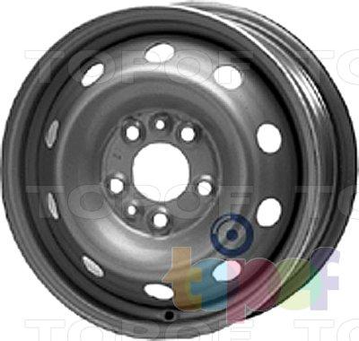 Колесные диски KFZ 8875. Изображение модели #1
