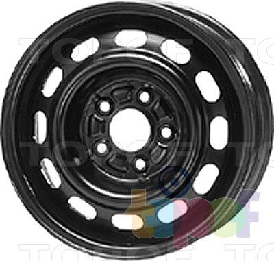 Колесные диски KFZ 8900. Изображение модели #1