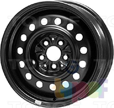 Колесные диски KFZ 8925. Изображение модели #1