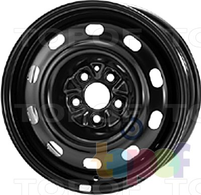 Колесные диски KFZ 8935. Изображение модели #1