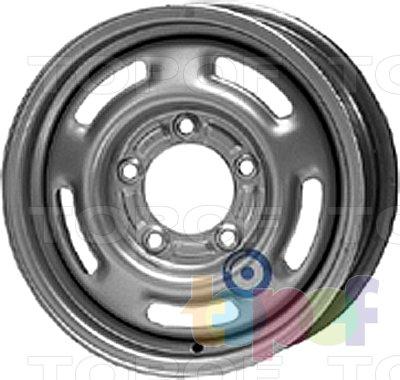 Колесные диски KFZ 8940. Изображение модели #1