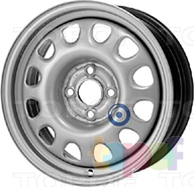 Колесные диски KFZ 8950. Изображение модели #1