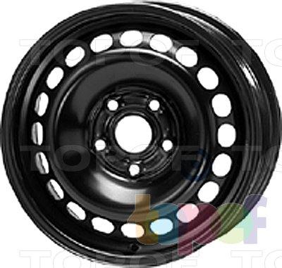 Колесные диски KFZ 8955. Изображение модели #1