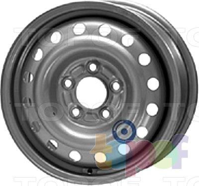 Колесные диски KFZ 8965. Изображение модели #1