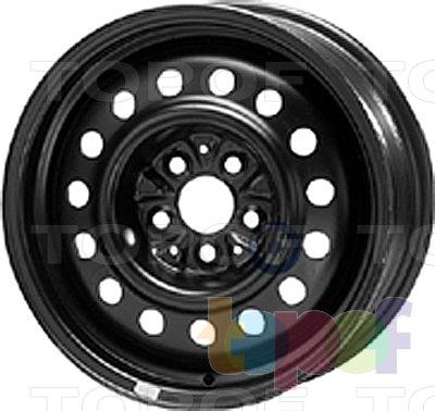 Колесные диски KFZ 8985. Изображение модели #1