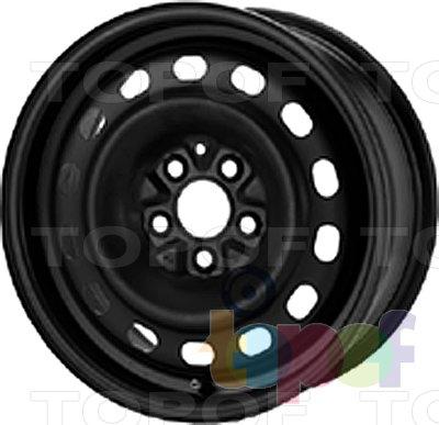 Колесные диски KFZ 8995. Изображение модели #1