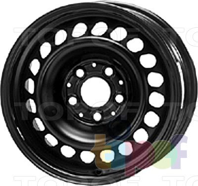 Колесные диски KFZ 9005. Изображение модели #1