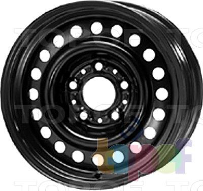 Колесные диски KFZ 9030. Изображение модели #1