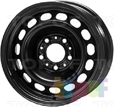 Колесные диски KFZ 9035. Изображение модели #1