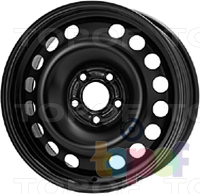 Колесные диски KFZ 9045. Изображение модели #1