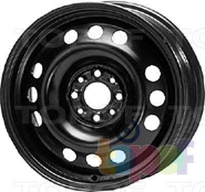 Колесные диски KFZ 9055. Изображение модели #1