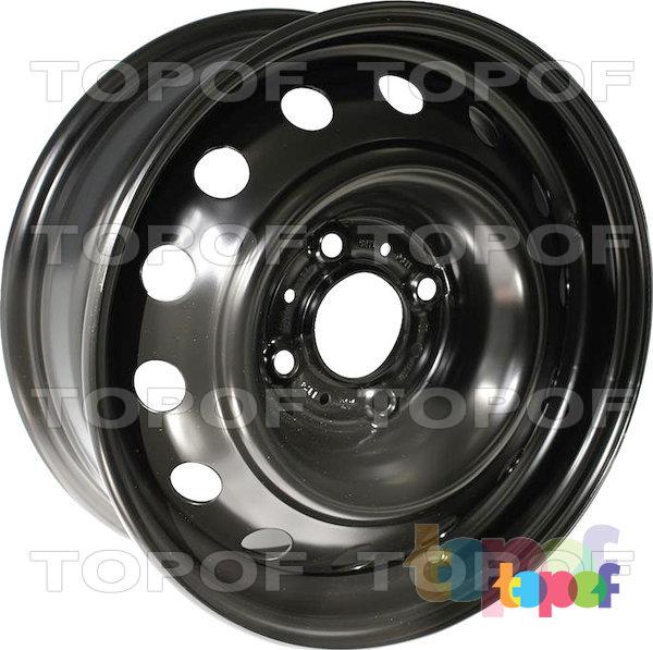 Колесные диски KFZ 9062. Изображение модели #1