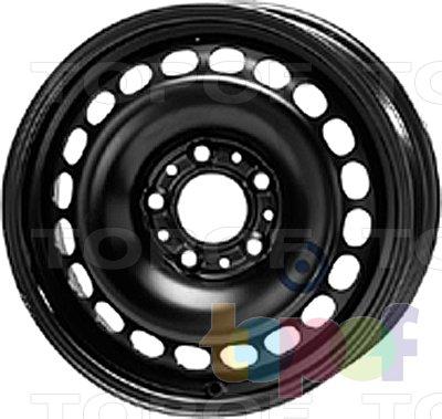 Колесные диски KFZ 9075. Изображение модели #1