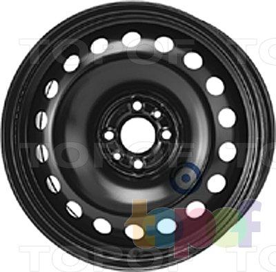 Колесные диски KFZ 9087. Изображение модели #1