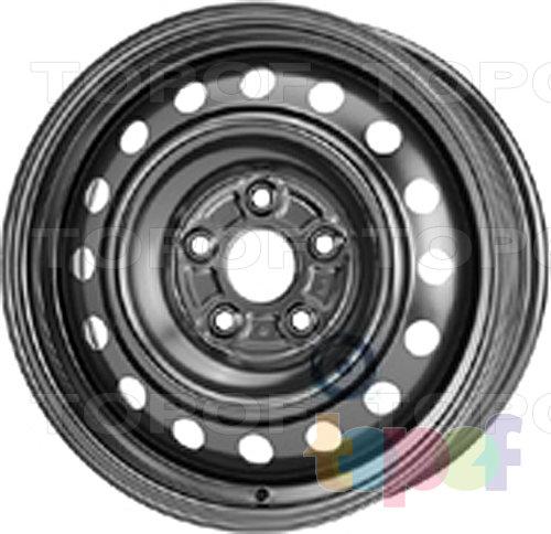 Колесные диски KFZ 9107. Изображение модели #1