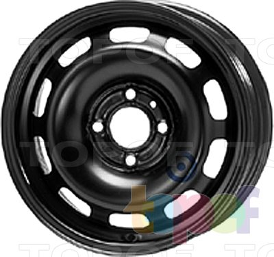 Колесные диски KFZ 9120. Изображение модели #1