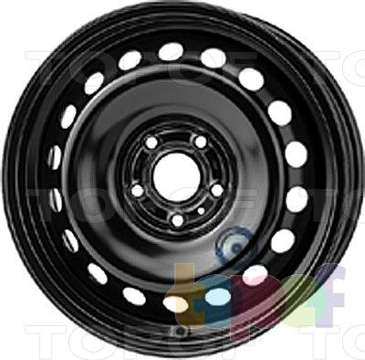 Колесные диски KFZ 9123. Изображение модели #1
