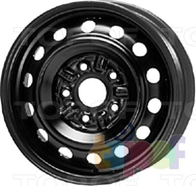 Колесные диски KFZ 9140. Изображение модели #1