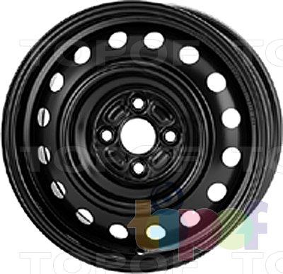 Колесные диски KFZ 9145. Изображение модели #1