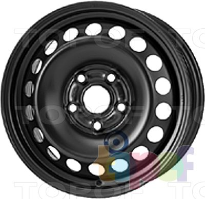 Колесные диски KFZ 9165. Изображение модели #1