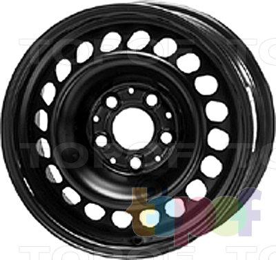 Колесные диски KFZ 9205. Изображение модели #1