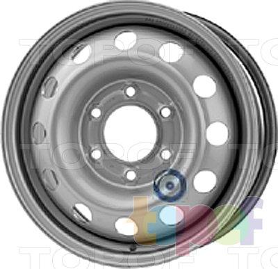 Колесные диски KFZ 9207. Изображение модели #1