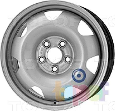 Колесные диски KFZ 9215. Изображение модели #1