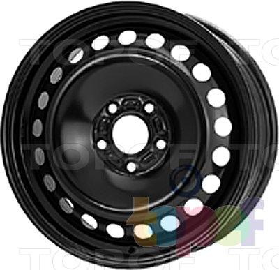 Колесные диски KFZ 9225. Изображение модели #1