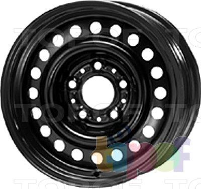 Колесные диски KFZ 9230. Изображение модели #1
