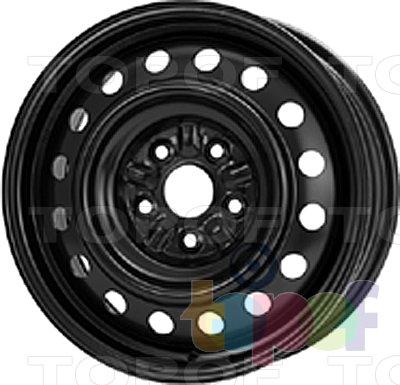 Колесные диски KFZ 9255. Изображение модели #1
