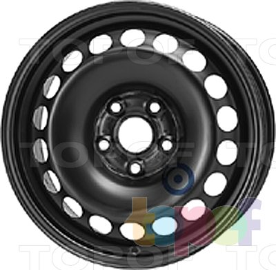 Колесные диски KFZ 9257. Изображение модели #1