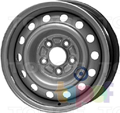 Колесные диски KFZ 9280. Изображение модели #1