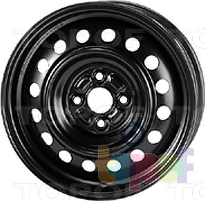 Колесные диски KFZ 9285. Изображение модели #1