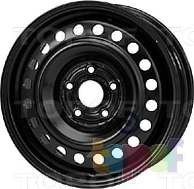 Колесные диски KFZ 9295. Изображение модели #1
