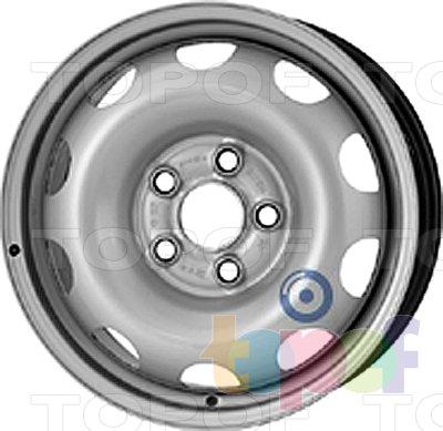 Колесные диски KFZ 9365. Изображение модели #1