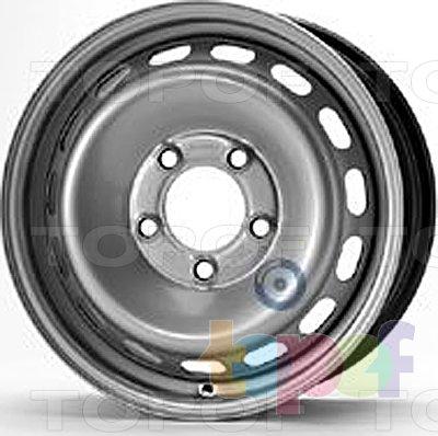 Колесные диски KFZ 9367. Изображение модели #1