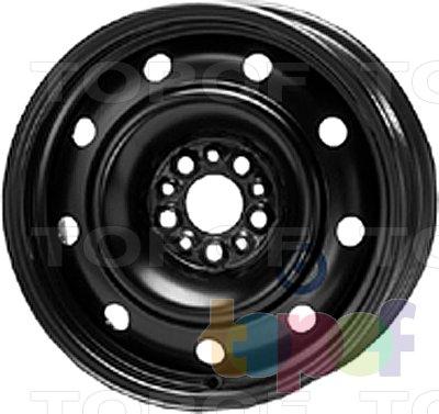 Колесные диски KFZ 9370. Изображение модели #1