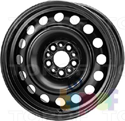 Колесные диски KFZ 9375. Изображение модели #1
