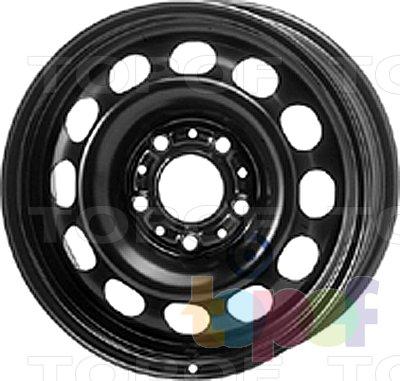 Колесные диски KFZ 9400. Изображение модели #1